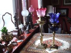 oil lamps (piepjemiffy) Tags: antiques oillamps
