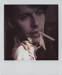 """to Fabrizio""""FABER""""de Andre',italian singer & singer composer.18-02-1940  11-01-1999 (cHr1st1an S images) Tags: street city portrait italy woman man poster polaroid flickr cigarette genova singer match polaroid600 faber creuzadema passionphotography fabriziodeandre mywinner abigfive anawesomeshot theunforgettablepictures codadilupo thebestofday gnneniyisi chr1st1ans singercomposer christiansorrentino"""