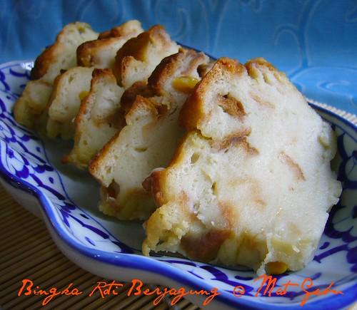 Bingka Roti Berjagung