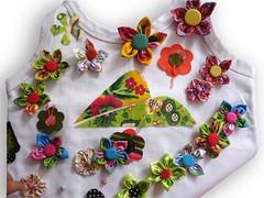 Fuxicaria (Minhas Crias) Tags: artesanato fuxico tecidos trabalhosmanuais retalhos