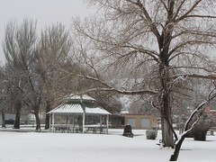 IMG_10648 (old.curmudgeon) Tags: park snow newmexico gazebo 5050cy