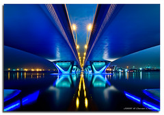Back in Blue! (DanielKHC) Tags: bridge blue abstract electric digital interestingness high nikon dubai dynamic uae explore range dri increase hdr blending d300 danielcheong bratanesque danielkhc tokina1116mmf28 algarhoud gettyimagesmeandafrica1