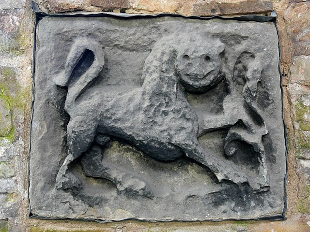 Anglian Beasts Breedon-on-the-Hill anglo saxon carving