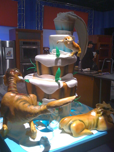 Ice Age Cakes Food Network Challenge