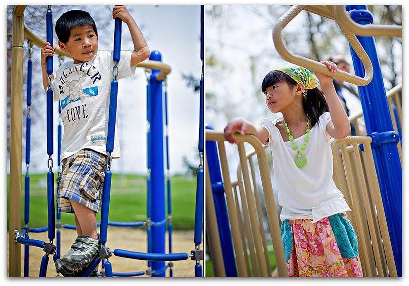 Playground Diptych 1