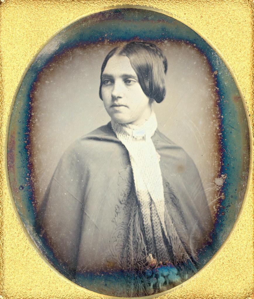 Victorian Beauty Daguerreotype