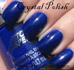 Revlon Royal (CrystalPolish) Tags: blue royal creme drugstore revlon topspeed