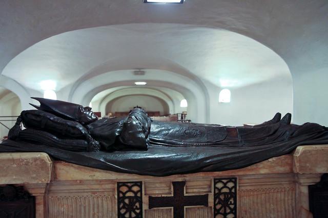 Rome. Pope's tomb