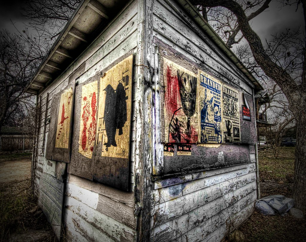 The Mysterious Shack with the Unusual Flyers