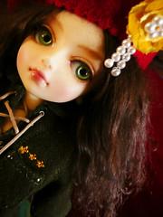 General Georgia, Raspberry Beret (nettness) Tags: georgia doll dolls super sd bjd resin dollfie superdollfie volks ea abjd gumdrops arttoys eyecandies balljoint balljointeddolls yosd julepgreen etherealangeleyecandies