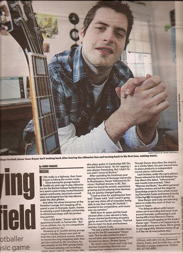 Gnotes interview in The Herald