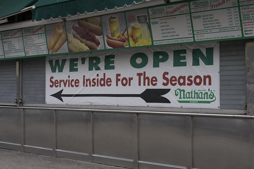 Nathan's Is Open