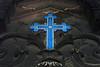 cross (Leo Reynolds) Tags: leol30random cemetery cemeteryperelachaise enamel cross onecross groupgraves groupozy canon eos 30d 0017sec f45 iso400 38mm 0ev grouputata xleol30x hpexif xratio3x2x grouppariscemeteries xx2008xx