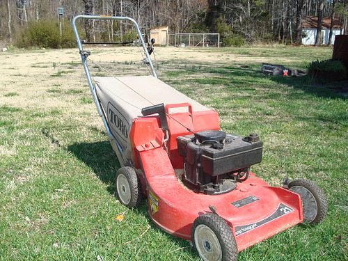1985 lawnmower... the beginning