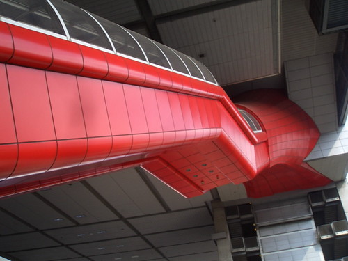 the spidey escalator