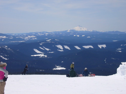 Looking south from top of lift