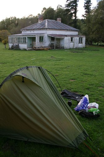 My camp for the night, near Fairlie, NZ...