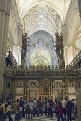 Seville, Andalusia, Spain The Cathedral: interiors. (sanguedolces) Tags: spain seville andalusia enstantane