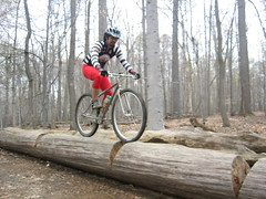 Ricky on Log (bundokbiker) Tags: adobo darwin biking technical mtb filipino mountainbiking avalon pinoy harlot logride ttf santinor ssoft singlespeedoutlawfactoryteam harlotsocks adoboride darwinsantinor photosbydarwinsantinor