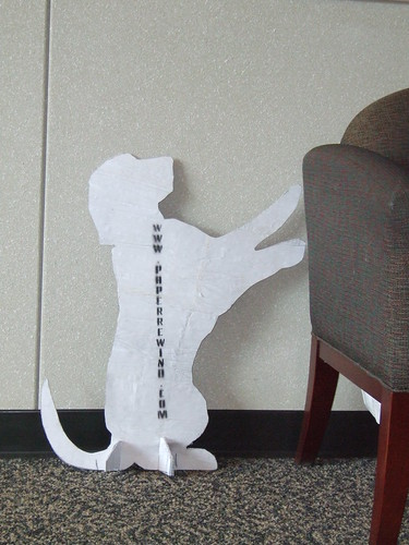 Paper Rewind Dog