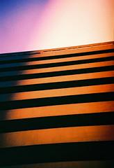 Embassy Court (lissyloola) Tags: court lca xpro crossprocess stripes hove slidefilm embassy balconies artdeco embassycourt brightonandhove lissyloola lisagarner embassycourtlomo