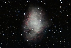 Crab nebula movie