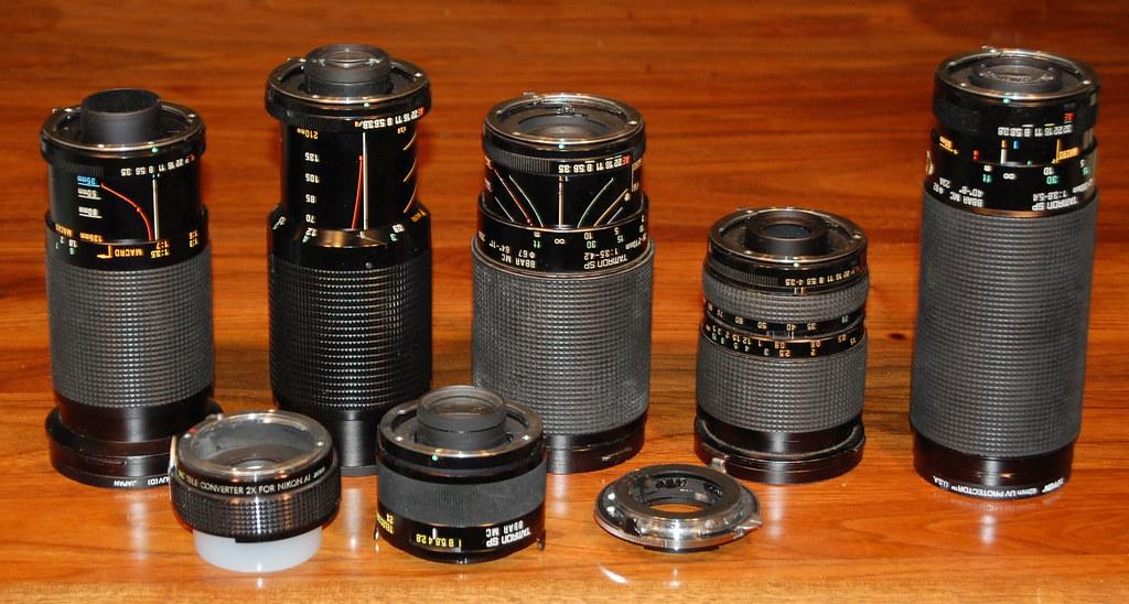 My Manual Lenses
