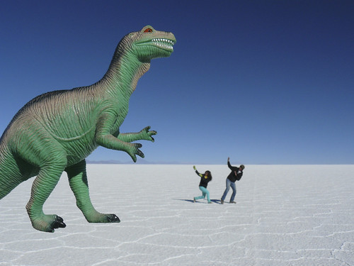 strange things happen on the salt flats