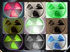 radioaktiv samoussa style, technique mixte culinaire et photographique