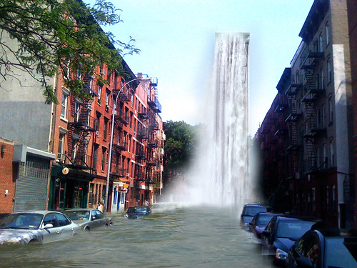 Sophie's NYC East Village Waterfall