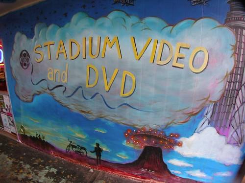 Stadium Video Mural Signage