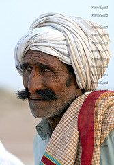 Old man of Cholistan (KamiSyed.) Tags: wedding pakistan man men kids women culture arab desi pakistani punjab cultural punjabi islamabad weddingphotographer rawalpindi urdu taxila weddingphotography woaman studio9 weddingphotographs weddingpix kamisyed kamransafdar chinak