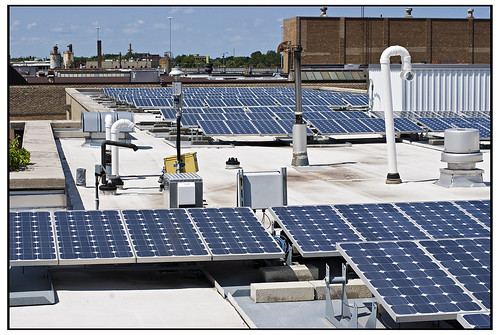 Solar Panels - Chicago Center for Green Technology