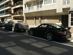 Rolls-Royce Drophead Coup & Porsche 997 GT2 (Robin Kiewiet) Tags: door sports robin car lumix photography doors belgium very frankfurt north 911 suicide belgi fast convertible rollsroyce autoshow international exotic turbo american porsche knokke record concept phantom 36 rs luxury coupe 67 fia dmc coup gt2 evo motorshow 2007 exotics combo v12 gt3 997 nrburgring 100ex gt1 kiewiet drophead flat6 fz8 520bhp