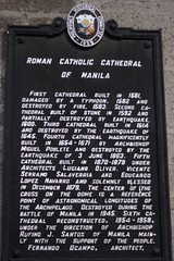 Story behind the building of one of the oldest Cathedral (crvillalva) Tags: cathedral random philippines manila intramuros philippinevacation2008 may2008vacation