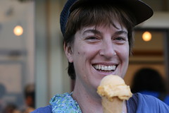 Pam at Ici Ice Cream (Elmwood/Berkeley)