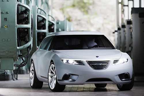 Saab 9-X BioHybrid Honored at Automotive Hall of Fame,car, sport car