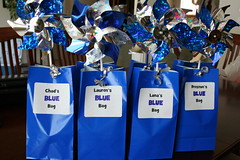 Blue party favors by JMayes