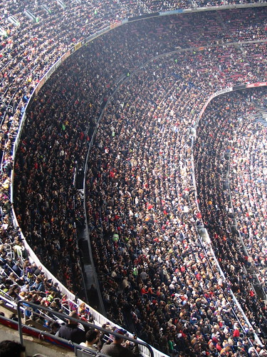 Nou Camp Stands & Fans
