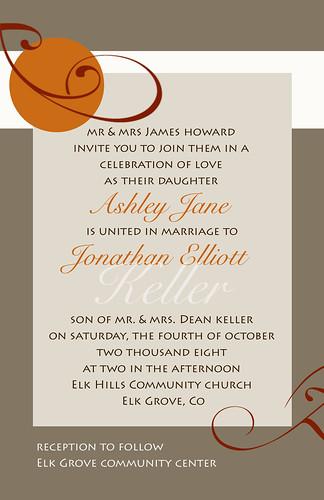"""autumn orient"" wedding invitation, wedding invitation autumn style, wedding cakes, flowers, invitation, photos, gowns, dresses"