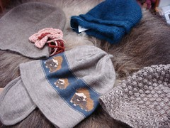 Qiviut hats (Inua Wool Shoppe) Tags: garments qiviut quiviut