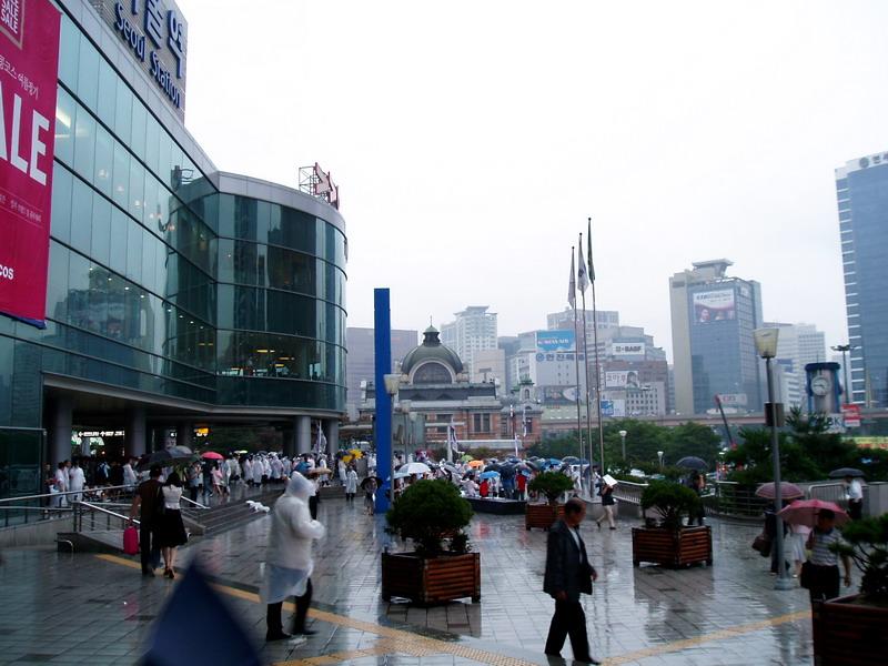 Seoul Station plaza