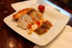 fish tapa (kozyndan) Tags: barcelona fish bar restaurant spain tapas tapa catalana cerveseria cerveceria cerveseriacatalana