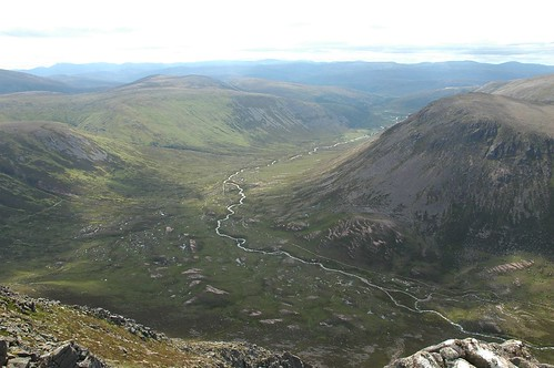 Glen Derry from Stob Coire Etchachan