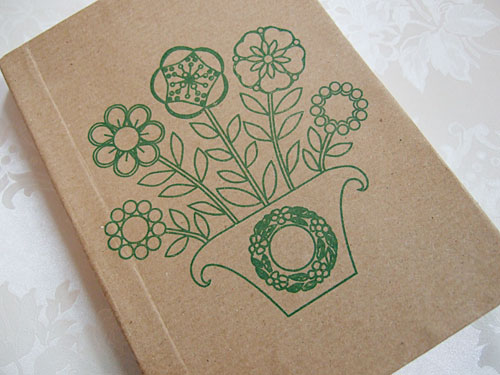 Button plant notebook
