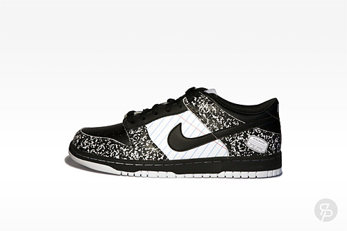 "Nike Dunk Low Premium (GS) ""Notebook"""