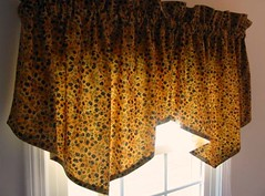 """Countryside Cottage"" Ascot Valances"
