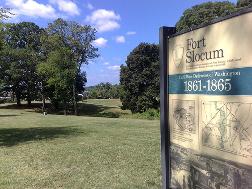 Fort Slocum in Washington DC - managed by the National Park Service