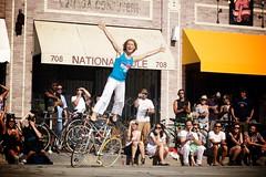 Artistic Cyclist Ines Brunn