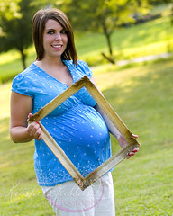B4 (Krista Gabbard) Tags: summer portrait baby girl outside outdoor lifestyle pregnant maternity expecting
